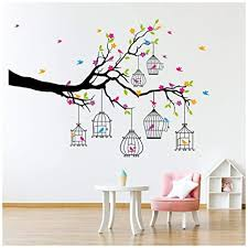 Kids Furniture Decor Storage Fairytale Forest Wall Sticker Scene Fairy Wall Decal Girls Room Nursery Decor Available In 8 Sizes X Small Digital Kids Room Decor Wall Decor