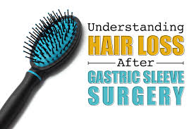 hair loss after gastric sleeve surgery