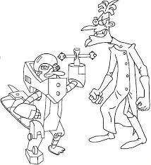 Kleurplaten En Zo Kleurplaten Van Phineas En Ferb