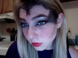 spider queen makeup for how
