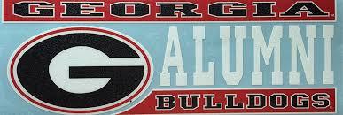 Amazon Com Craftique Georgia Bulldogs Alumni Decal Sports Outdoors