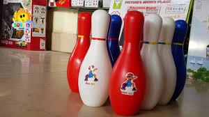 Đồ chơi trẻ em - Bộ đồ chơi bowling - Bowling Set Unboxing for ...