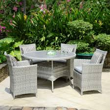 4 seat outdoor garden furniture dining set