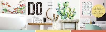 Roommates Stay Awhile Quote Peel And Stick Wall Decals Amazon Com