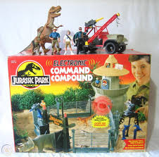 Jurassic Park Command Compound Complete In Box With Devil Tracker T Rex More 1835531915