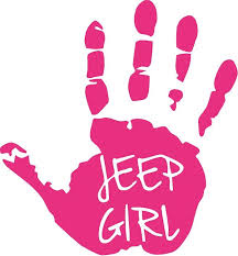 Jeep Girl Hand Decals