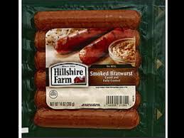smoked bratwurst link sausage nutrition