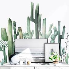 Cactus Wall Decals The Treasure Thrift
