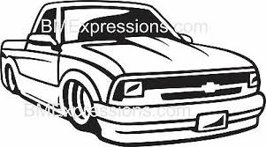 Chevy S10 Pickup Lowrider Chevrolet Vinyl Decal Your Color Choice Sticker Ebay