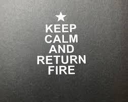 Keep Calm Decal Etsy