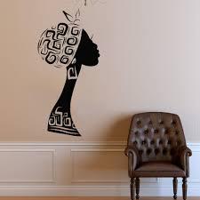 Wall Decal Window Sticker Beauty Salon Woman Face Africa Etsy Wall Decals Window Stickers Vinyl Wall Decals