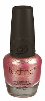 pink las shimmer bronze shiny glossy
