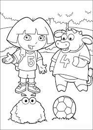 Dora En Benny Kleurplaat Gratis Kleurplaten Printen
