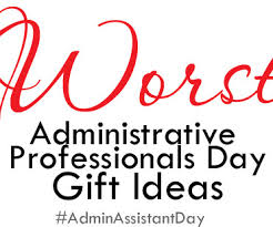administrative professionals and gifts