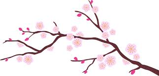 Pink Tree Wall Decal Tenstickers