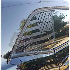 Amazon Com Camaro 6th Gen American Flag Rear Quarter Window Accent Decal Kit 2016 2019 Flat Back Automotive