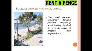 Construction Site Fencing Pool Fencing Adelaide Fence Hire Victoria Youtube