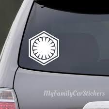 Star Wars First Order Decal First Order Sticker First Order Etsy