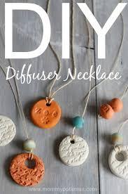 diy essential oil necklace tutorial