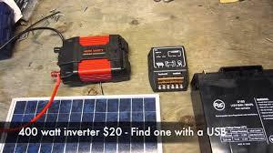 portable solar generator ponents