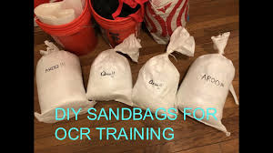 diy sandbags for spartan race ocr