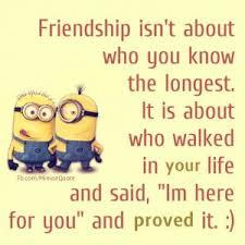 minion friendship quotes quotesgram