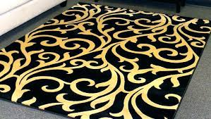 black and gold rug insightsineducation