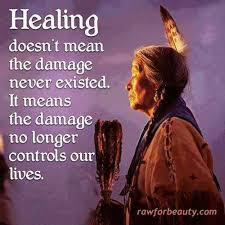 Image result for healing is not that the damage never existed