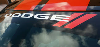 Dodge Windshield Decal
