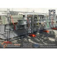 Quality Temporary Construction Fencing Temporary Construction Fencing On Sale Of Razormesh Net