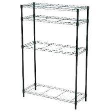 tall shelf unit tall narrow white shelf