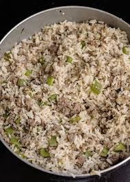 homemade dirty rice southern plate