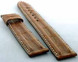 omega alligator and crocodile watch straps