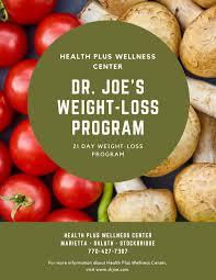 weight loss program dr joe learn