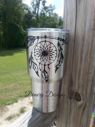 Dreamcatcher Vinyl Decal Sticker For Men Or Women Native American Indian Decal For Car Laptop Yeti Ozar Yeti Cup Designs Rtic Cup Designs Decals For Yeti Cups