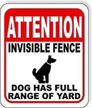 Amazon Com Invisible Fence Sign