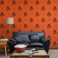 baltimore orioles logo pattern orange