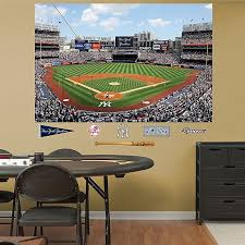 Fathead Mlb New York Yankees Stadium Mural Wall Graphic Bed Bath Beyond