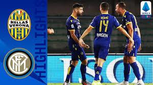 Hellas Verona 2-2 Inter | Inter Draw After Conceding a Late ...