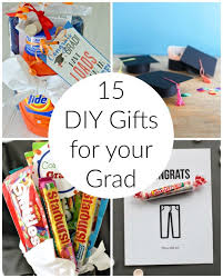 15 diy graduation gift ideas for your