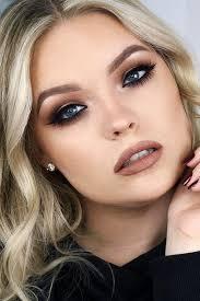 bridal makeup looks for blue eyes