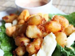 wisconsin beer battered cheese curds