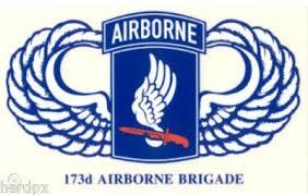 173rd Airborne Brigade Window Stickers Lot Of 5 102930022