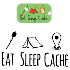Eat Sleep Cache 2 Pack Vinyl Decal And Tag 8 Inch New Releases