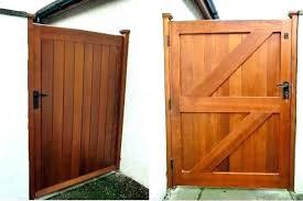 cedar garden gate diy gates ideas