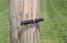 Zareba Ht4ft125 500 540t Electric Fence Insulators Polyethylene 4 In Lgth