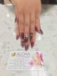 aloha nails nail salons 123