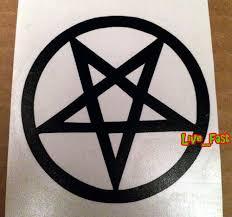 Furniture Stickers Home Furniture Diy Wall Decals Stickers Pentagram Vinyl Decal Sticker Anton Lavey Satan Black Metal Witchcraft Occult Home Decor Items Govtapply In