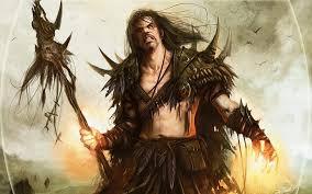fantasy art artwork mtg sarkhan