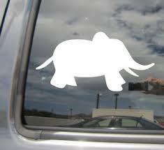 Baby Elephant Cute Gop Republican Car Bumper Window Vinyl Decal Sticker 01390 Ebay